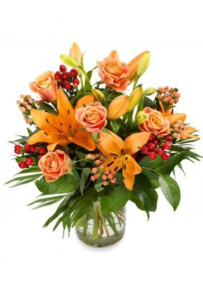 Ramo de Flores Naranja para Vitoria-Gasteiz