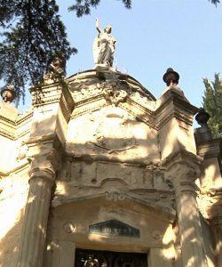 El Angel de la Muerte - Cementerio Santa Isabel (Vitoria-Gasteiz)