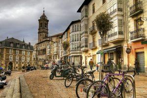 Vitoria-Gasteiz - Cuesta San Francisco - Flores en Red- Cicloturismo Vitoria