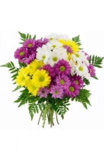 Ramo margaritas día Enamorados, Floristerías Vitoria, mandar flores San Valentín, enviar flores día enamorados, comprar flores San Valentín, Flores en Red, especialista en rosas, rosas san valentin