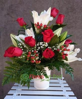 Centros y Cestas de Flores