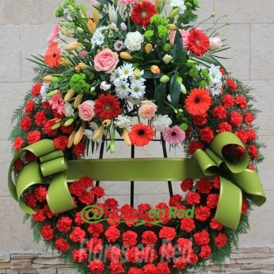 Envío Corona Funeraria