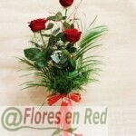 Ramo 3 Rosas rojas vitoria