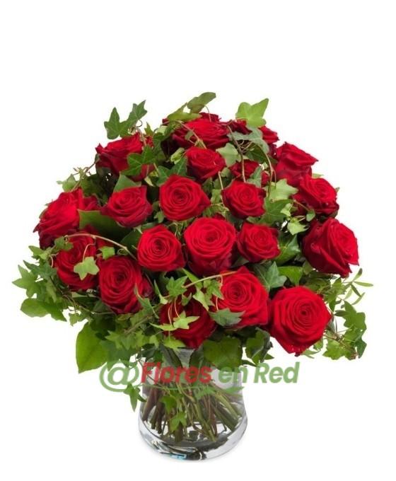 Ramo Rosas Rojas Recomendado