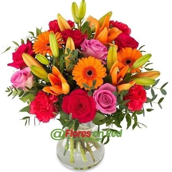 Ramo de Flores Colorido Regalo