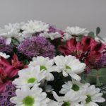 Flores de Ramo Margarita Alstreoemeria y Allium
