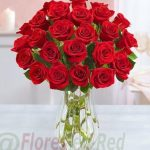 Regalar Ramo 24 Rosas jarrón