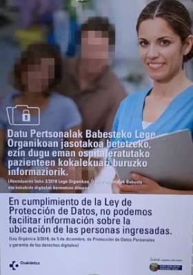 Ley Protección de Datos Hospital