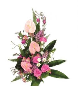 Flores para cumpleaños, Centro de Flores, Centro de Rosas, Floristerías cerca de mi, Flores, Rosas, Enviar flores a domicilio