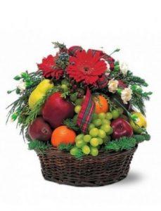 Flores cumpleaños, cestas de frutas, centros de flores para Vitoria, Cestas de Flores urgentes en Vitoria