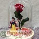 Rosa Eterna Blancanieves